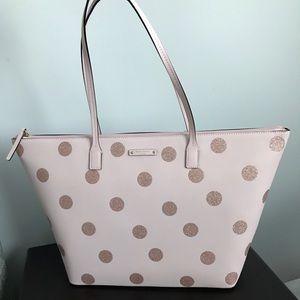 Kate Spade ♠️ Large Hani Tote Bag - Hello Spring